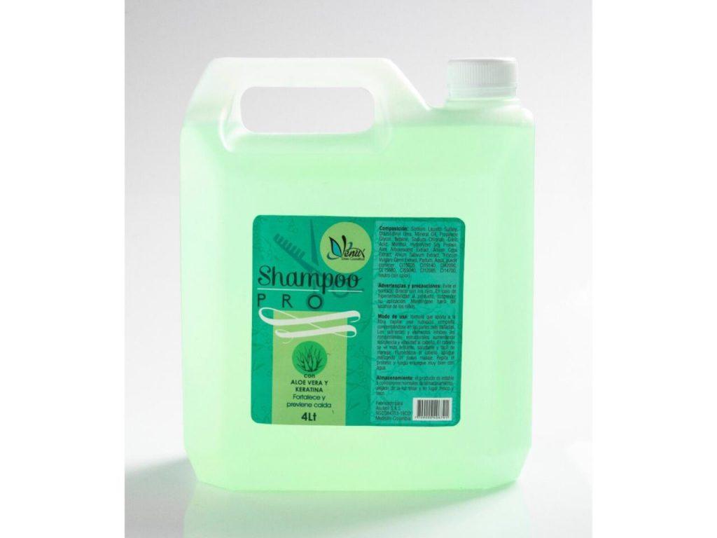 Shampoo aloe vera y keratina de Venux x 4 L