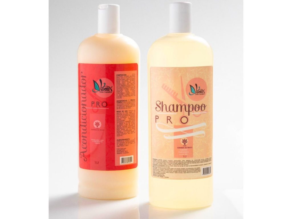 Shampoo de germen de trigo de Venux
