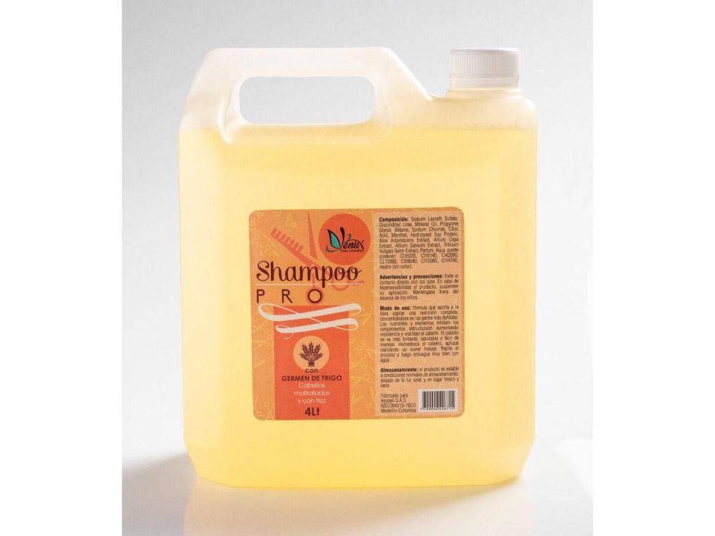 Shampoo germen de trigo de Venux x 4 L