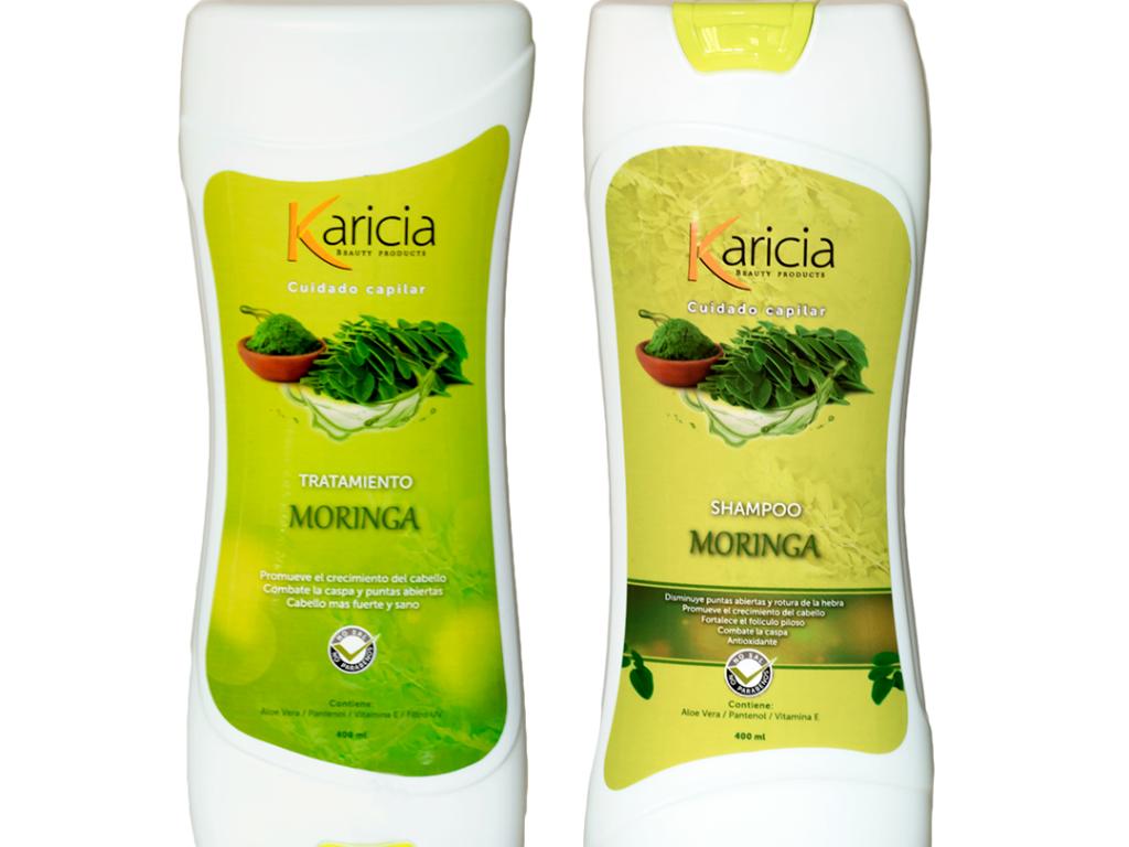 Shampoo Y Tratamiento Moringa Karicia