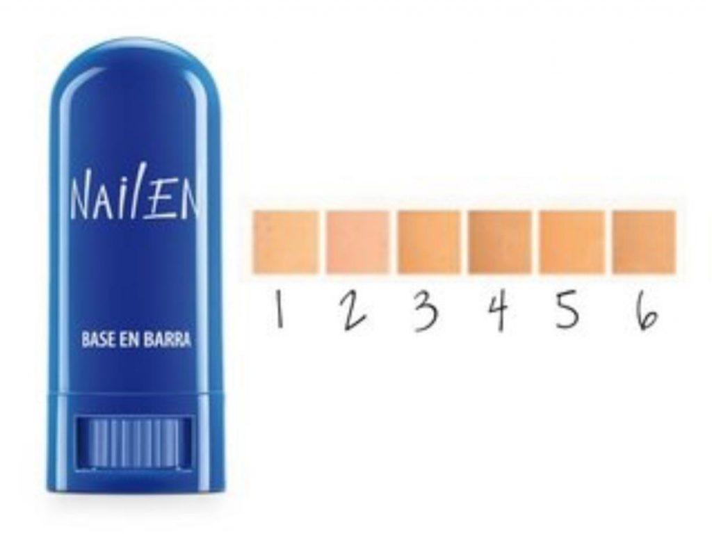 Base Nailen en barra