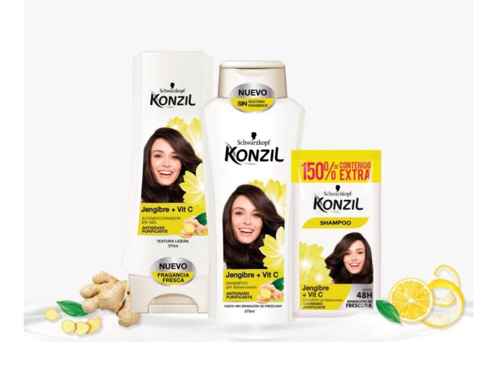 Shampoo Konzil de Jengibre + Vitamina C