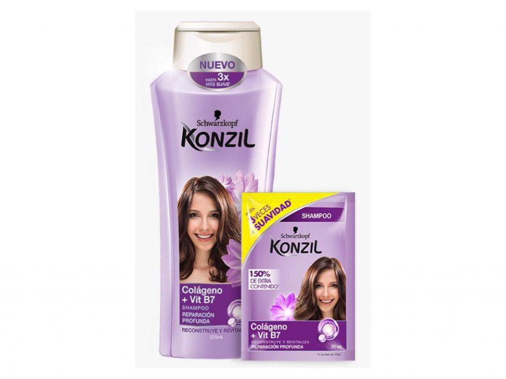Shampoo de Konzil de Colágeno +  Vitamina B7