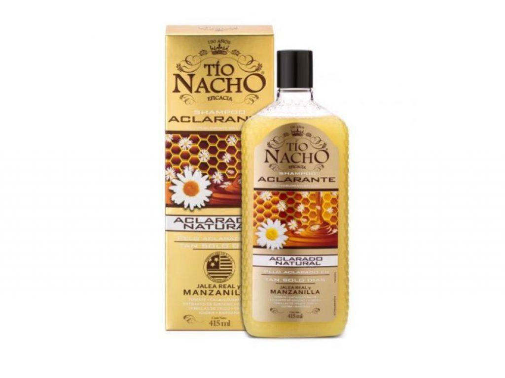 Shampoo Tío Nacho aclarado natural