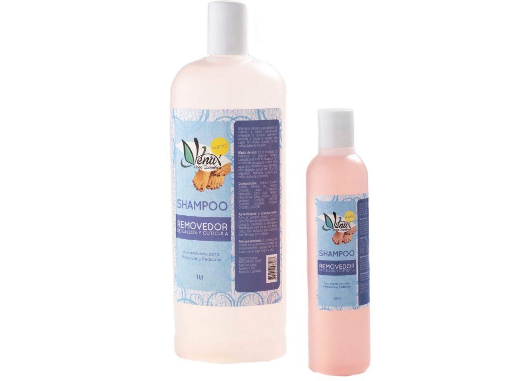 Shampoo removedor de callos y cuticula de venux