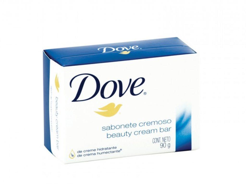 Jabón Dove en barra