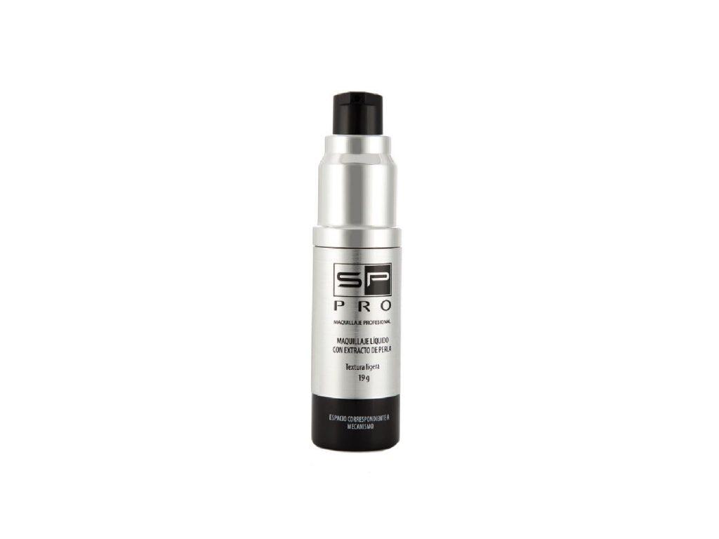 Maquillaje liquido con extracto de perla SP Pro